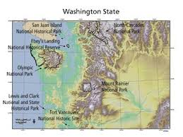map us landforms mapping ecosystems at the landform scale in washington state