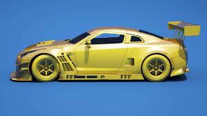 Nissan Gtr Yellow - nissan gt r nismo gt3 style body kit