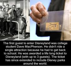 Disneyland Memes - disneyland adult admit one the first guest to enter disneyland was
