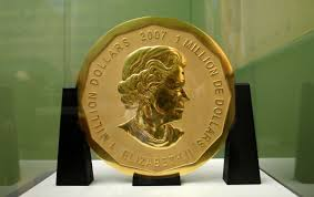 200 lb gold coin that u0027s worth more than 1 million is stolen