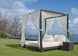 Outdoor Daybed With Canopy Canopy Bed Outdoor Sustainablepals Org