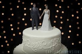 cake topers 3d printed wedding cake toppers look stunning all3dp