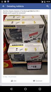 Argos Karcher Patio Cleaner Karcher Chassis Cleaner 18 B U0026 Q Hotukdeals