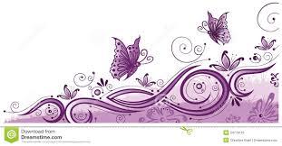 purple butterfly border clip art u2013 101 clip art