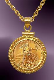 coin necklace gold images Dollar gold eagle twist mount necklace ntm8 5e 20b8 jpg