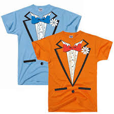 dumb and dumber costumes light blue or orange ruffled tuxedo costume dumb and dumber