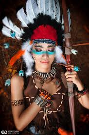 Easy Halloween Makeup For Men by By Victoria Bee On 500px Native American Pinterest India By