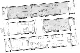 floor plans of living units in unite d u0027habitation marseille