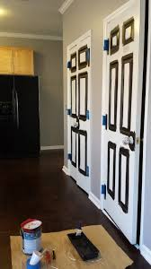 spray paint interior door hinges dors and windows decoration