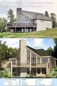 Hillside House Plans With Garage Underneath 1293 Best Architectural Designs Editor U0027s Picks Images On Pinterest