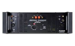 home theater power amplifier alesis ra500