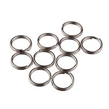 titanium key rings images Ti edc split rings titanium small key rings pack of jpg