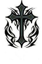 tattoo cross tribal design tribal cross tattoo design art tribal tattoos pinterest tribal