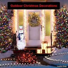 christmas outdoor decor 55 artistic christmas door decorations ideas for a warm welcome