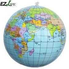 aerated world globe earth tellurion home decorative
