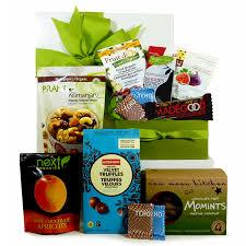 organic chocolate gift basket healthy gourmet gift baskets