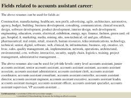 accounting assistant cover letter sample 10905