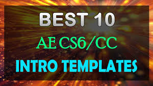 the best 10 intro templates ever after effects free download