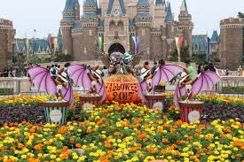 tokyo disney resort celebrates the halloween season
