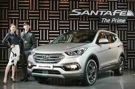 hyundai santa fe facelift hyundai santa fe facelift launched in south