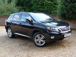 used lexus rx cars for sale motors co uk