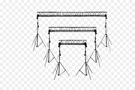 dj lighting truss package truss system triangle dj lighting truss with light undefined png