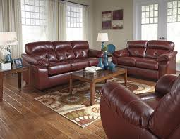 Chestnut Leather Sofa Bastrop Red Leather Sofa And Loveseat Set Steal A Sofa Furniture