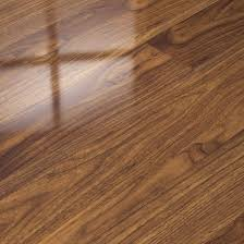 Laminate Flooring High Gloss Dark Walnut Elesgo High Gloss Laminate Flooring 15 99m2