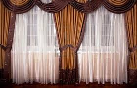 silk curtains background doherty house luxury stylish faux