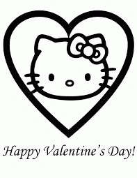 kitty valentines coloring pages ipad coloring