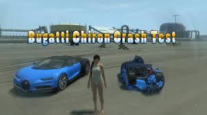 galaxy bugatti chiron bugatti chiron crash test epic gta 4 youtube