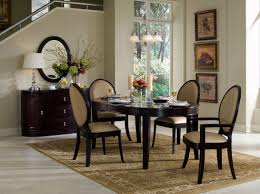 black wooden dining table set top 71 wonderful round dining set small table furniture glass room