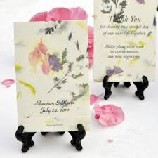flower seed wedding favors favors and gifts tree beginnings