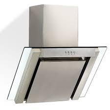 hotte de cuisine hotte aspirante avec verre 60 x 55 x 60 cm avec cheminée
