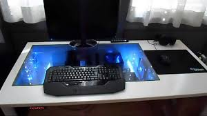 Pc Built Into A Desk Extreme Custom Desk Modding Case 2 0 Youtube
