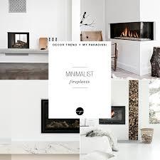 minimalist fireplace trend minimalist fireplace my paradissi