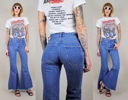 High Waist Bell Bottom Jeans High Waisted Bell Bottom Jeans 70 U0027s Jeans To