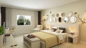 mur de chambre en bois lit en chêne foncé armoire à tiroirs bois rayures mur blanc et lit