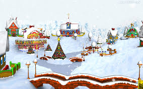 christmas cartoon wallpapers group 78