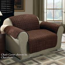 Overstuffed Chair Cover Decorating Mesmerizing Loveseat Cover For Lovely Home Furniture
