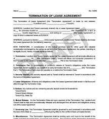 make a free lease termination letter in minutes legal templates