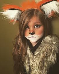 cute and easy little fox halloween makeup halloween u003dparty