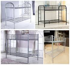 metal double decker bunk bed king size bed frame buy king size