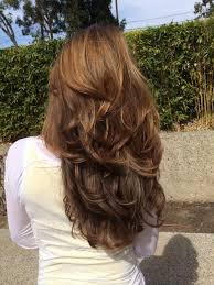 hairstyles with layered in back and longer on sides photo gallery of long hairstyles layers back view viewing 13 of