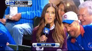 Cubs Fan Meme - total pro sports cubs fan checks out field reporter s butt on live tv