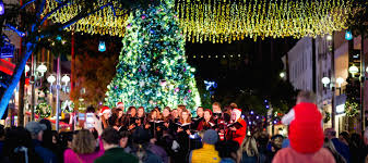 best tree lighting ceremonies in los angeles for families mommy