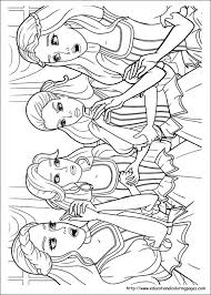 barbie 3 musketeers coloring pages educational fun kids