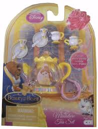 amazon com disney princess miniature tea set beauty u0026 the