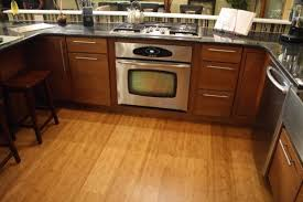 lovable kitchen design with cork flooring ideas for big space cool