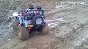 power wheels jeep hurricane modifications high volts rc power wheels mudding in deep water clip fail